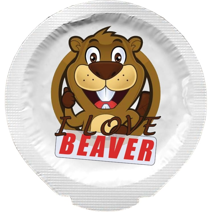 Happy Condoms I Love Beaver 1 pcs