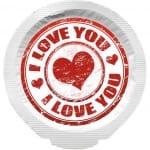 Happy Condoms I Love You 1 pcs