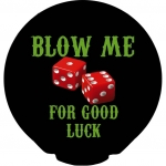 Happy Condoms Blow Me For Good Luck 1 pcs