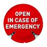 EXS Open in Case Of Emergency 1 pcs